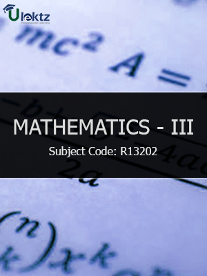 Important Question for Mathematics III