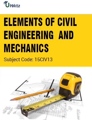 Important Question for ELEMENTS OF CIVIL ENGINEERING AND MECHANIC