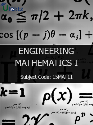 Important Question for ENGINEERING MATHEMATICS-I