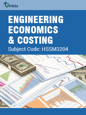 Important Question for Engineering Economics And Costing