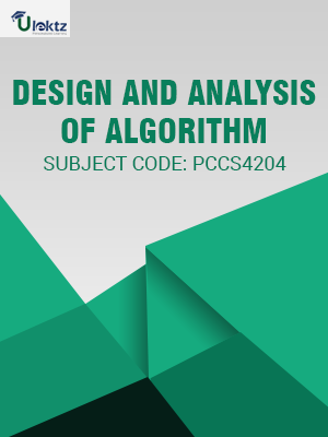 Important Question for Design and Analysis of Algorithm