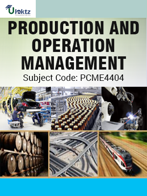 Important Question for Production and Operation Management