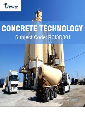 Important Question for  Concrete Technology (Honours)