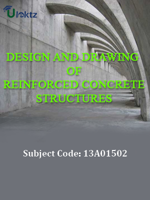 Important Question for Design & Drawing of Reinforced Concrete Structures
