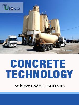 Important Question for Concrete Technology