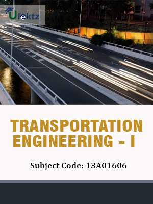 Important Question for Transportation Engineering - I