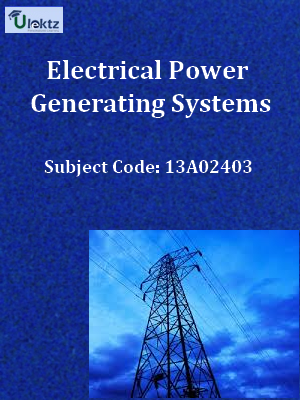 Important Question for Electrical Power Generating Systems
