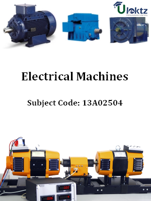 Important Question for Electrical Machines - III