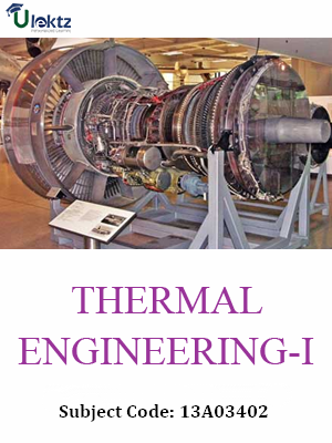 Important Question for Thermal Engineering - I