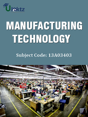 Important Question for Manufacturing Technology