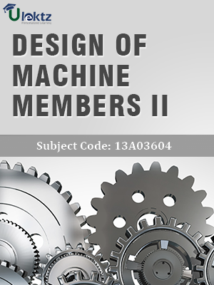 Important Question for Design Of Machine Members - II