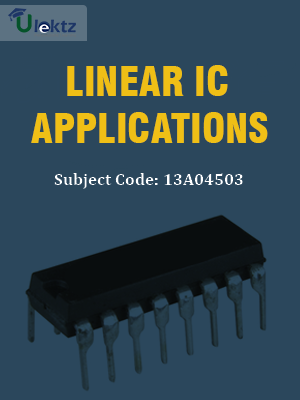 Important Question for Linear IC Applications