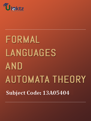 Important Question for Formal Languages & Automata Theory