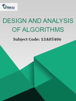 Important Question for Design And Analysis of Algorithms