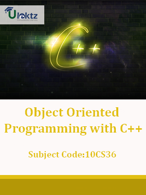 Important Question for Object Oriented Programming with C++
