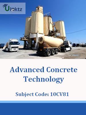 Important Question for Advanced Concrete Technology