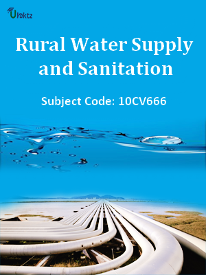 Important Question for Rural Water Supply and Sanitation