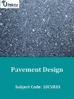 Important Question for Pavement Design