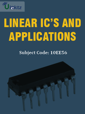 Important Question for Linear IC's and Applicationsl