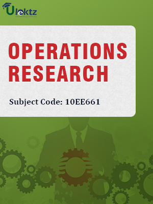 Important Question for Operation Research