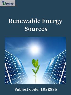 Important Question for Renewable Energy Sources