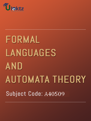 Important Question for Formal Languages And Automata Theory