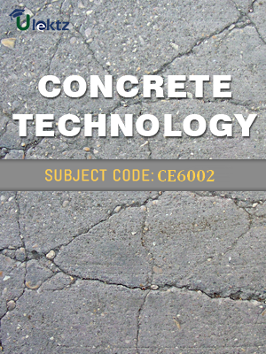 Important Question for Concrete Technology