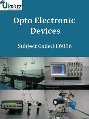 Important Question for Opto Electronic Devices