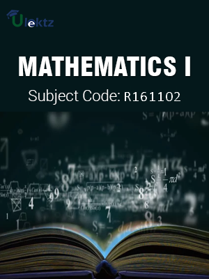 Important Question for Mathematics - I