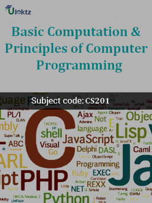 Important Question for Basic Computation & Principles of Computer Programming