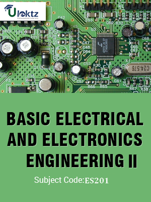 Important Question for Basic Electrical & Electronic Engineering-II