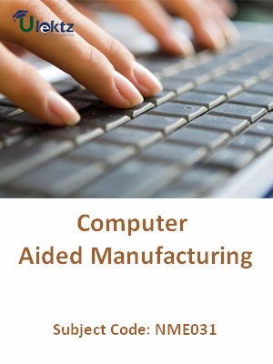 Important Question for Computer Aided Manufacturing