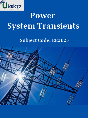 Important Question for Power System Transients