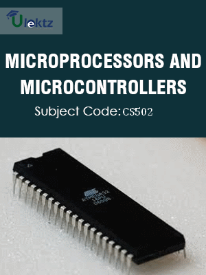 Important Question for Microprocessors & Microcontrollers