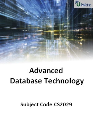 Important Question for Advanced Database Technology