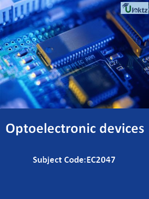 Important Question for Optoelectronic devices