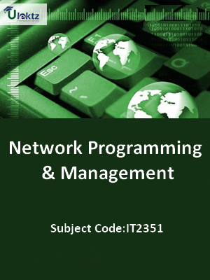 Important Question for Network Programming and Management