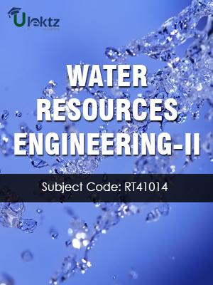 WATER RESOURCES ENGINEERING-II