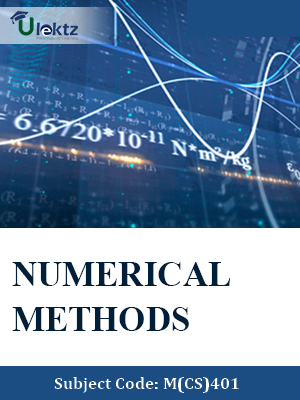 Important Question for Numerical Methods