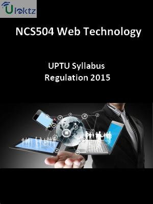 Web Technology - Syllabus