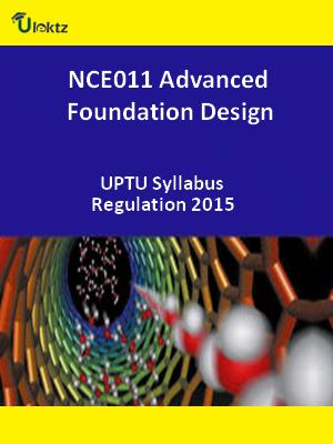 Advanced Foundation Design - Syllabus