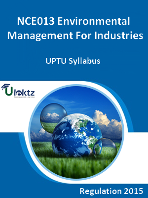 Environmental Management For Industries - Syllabus