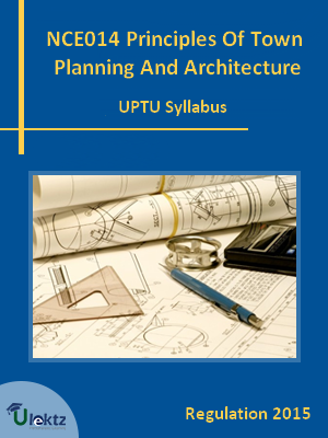 Principles Of Town Planning And Architecture - Syllabus