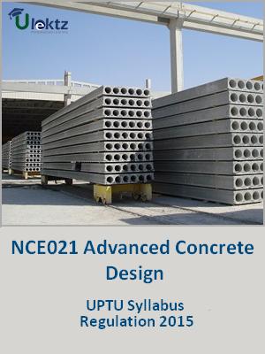 Advanced Concrete Design - Syllabus