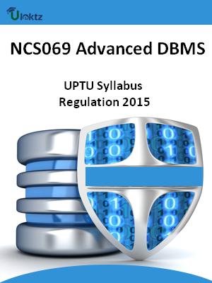 Advanced DBMS - Syllabus