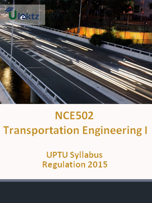 Transportation Engineering-I - Syllabus