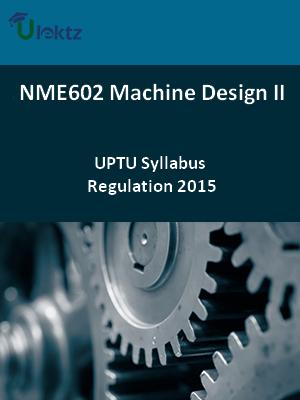 Machine Design-II - Syllabus