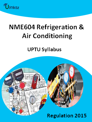 Refrigeration & Air Conditioning - Syllabus