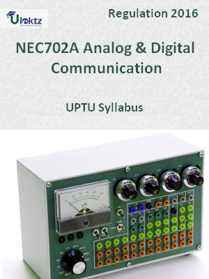 Analog & Digital Communication - Syllabus