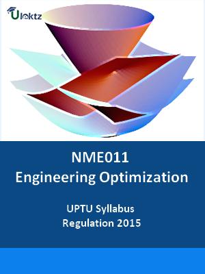 Engineering Optimization - Syllabus